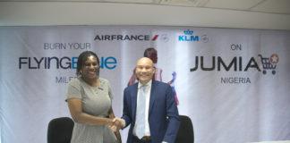 Jumiai, AirFrance KLM partnership