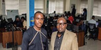 Seamfix Executive Director, Chibuzor Onwurah and Managing Director, Chimezie Emewulu (1)